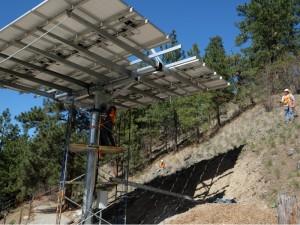 Okanagan Solar Tracking System