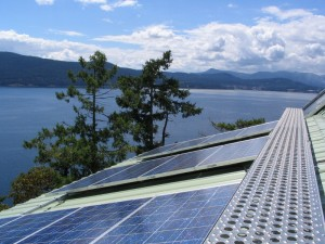 Salt Spring Island Solar Power