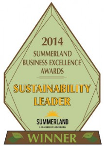 Summerland Chamber Sustainability Award