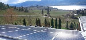 Okanagan Lake Solar Power