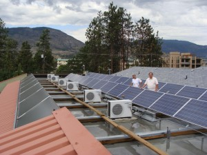 Okanagan Hotel Solar Power
