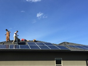 4.5 kWh Solar PV system on home in Osoyoos, BC.