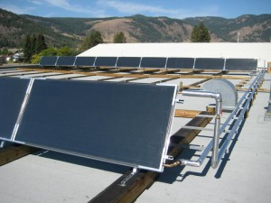 Grand Forks Heat Recovery Solar