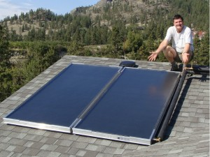 Okanagan Home Solar Water Heating