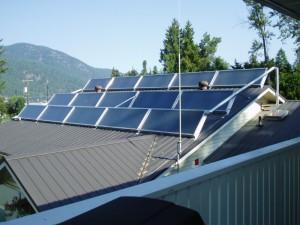 Okanagan Solar Water Heating